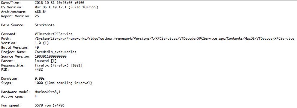 macOS - VTDecoderXPCService high CPU Usage - jonas pfeifer
